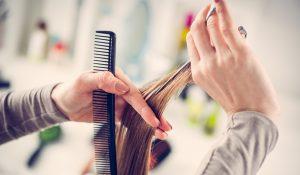 point cutting hair