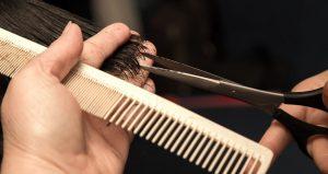 cut hair technique
